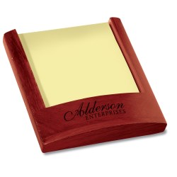 View a larger, more detailed picture of the Rosewood Memo Holder