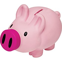 View a larger, more detailed picture of the Happy Pig Bank