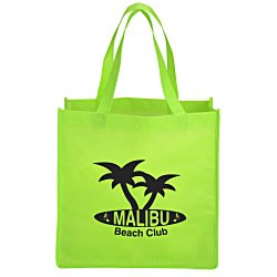View a larger, more detailed picture of the Celebration Shopping Tote Bag - 13 x 13
