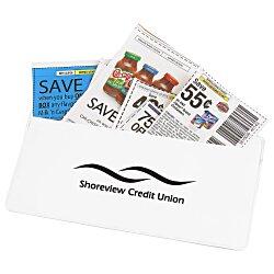 View a larger, more detailed picture of the Magnetic Coupon Holder
