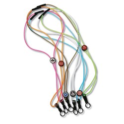 View a larger, more detailed picture of the Power Cord Lanyard - 3 16 Transparent