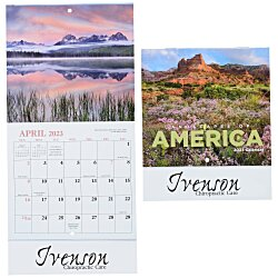 View a larger, more detailed picture of the Landscapes of America Calendar - Mini