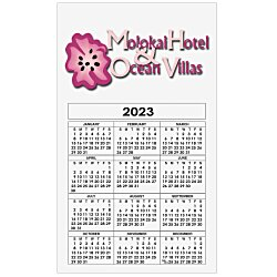 View a larger, more detailed picture of the Bic 20 mil Calendar Magnet - Medium