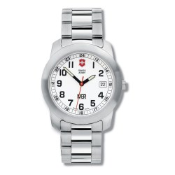 View a larger, more detailed picture of the Swiss Army Field Watch w Bracelet - Men s