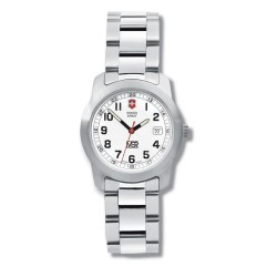 View a larger, more detailed picture of the Swiss Army Field Watch w Bracelet - Ladies