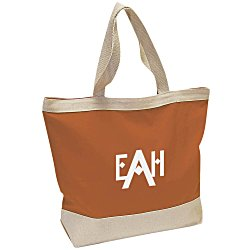 View a larger, more detailed picture of the Small Canvas Boat Tote Bag