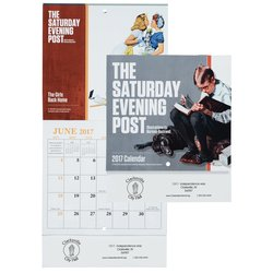 View a larger, more detailed picture of the Saturday Evening Post Norman Rockwell Calendar - Mini