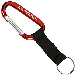 View a larger, more detailed picture of the Anodized Carabiner Keyholder