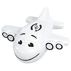 View a larger, more detailed picture of the Smiley Airplane Stress Reliever