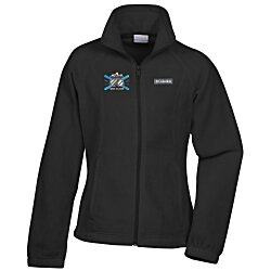 View a larger, more detailed picture of the Columbia Full-Zip Fleece Jacket - Ladies