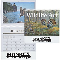 View a larger, more detailed picture of the Wildlife Art Pocket Calendar