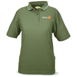View a larger, more detailed picture of the Microfiber Poly-Dri Sport Shirt - Ladies
