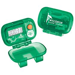 View a larger, more detailed picture of the Pedometer - Translucent