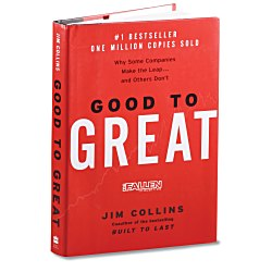 View a larger, more detailed picture of the Good To Great Book