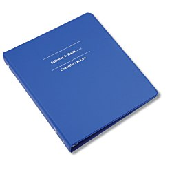 View a larger, more detailed picture of the Economy 1 Vinyl Ring Binder