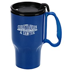 View a larger, more detailed picture of the Roadster Mug - 16 oz - Black Lid