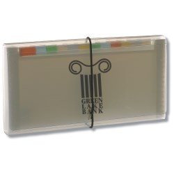 View a larger, more detailed picture of the Expanding Organizer - 5 x 10 - Translucent