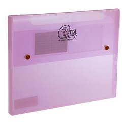 View a larger, more detailed picture of the Translucent Document Case - 9 x 12