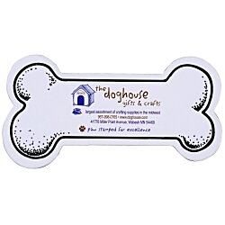 View a larger, more detailed picture of the Flat Flexible Magnet - Dog Bone
