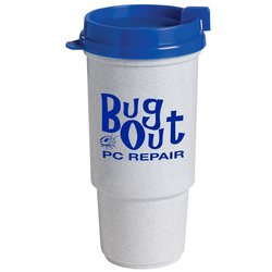View a larger, more detailed picture of the Insulated Auto Tumbler - 16 oz - Granite
