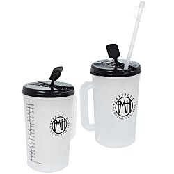 View a larger, more detailed picture of the Insulated Medical Mug w Straw - 34 oz