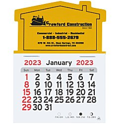 View a larger, more detailed picture of the Peel-n-Stick Calendar - House