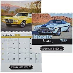 View a larger, more detailed picture of the Muscle Cars Calendar - Spiral