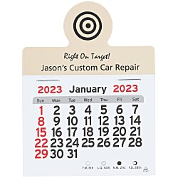 View a larger, more detailed picture of the Peel-n-Stick Calendar - Circle