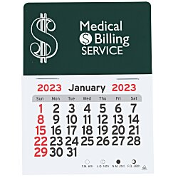 View a larger, more detailed picture of the Peel-n-Stick Calendar - Dollar Sign
