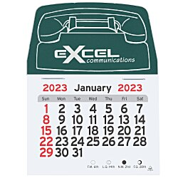 View a larger, more detailed picture of the Peel-n-Stick Calendar - Phone