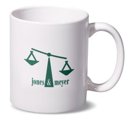 View a larger, more detailed picture of the Budget-Beater White Mug - 11 oz