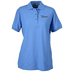 View a larger, more detailed picture of the Port Authority Silk Touch Sport Shirt - Ladies