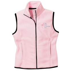 View a larger, more detailed picture of the Port Authority Fleece Full Zip Vest - Ladies