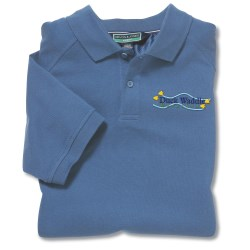 View a larger, more detailed picture of the Devon & Jones Polo with UV Protection Shirt - Men s
