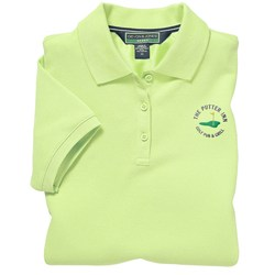 View a larger, more detailed picture of the Devon & Jones Polo with UV Protection Shirt - Ladies