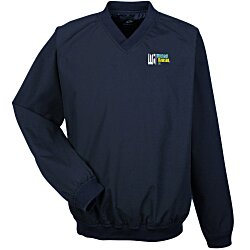 View a larger, more detailed picture of the Microfiber Cross-over V-Neck Windshirt