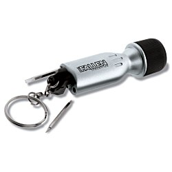 View a larger, more detailed picture of the Mini Flashlight Tool - Silver