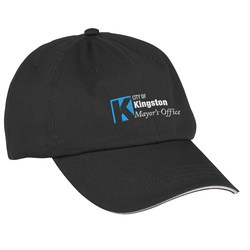View a larger, more detailed picture of the Sandwich Bill Cap - Solid Color