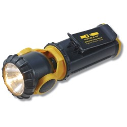 View a larger, more detailed picture of the Swivel Head Flashlight w Clip