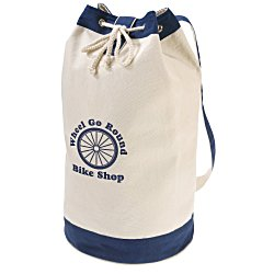 View a larger, more detailed picture of the Canvas Sling Boat Tote