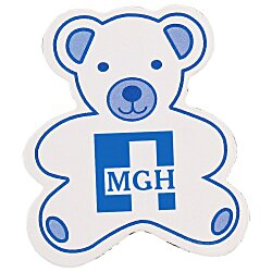View a larger, more detailed picture of the Flat Flexible Magnet - Teddy Bear