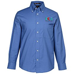 View a larger, more detailed picture of the Harriton Oxford w Stain Release Shirt - Men s