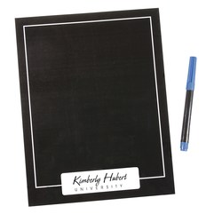 View a larger, more detailed picture of the Black Magnetic Memo Board