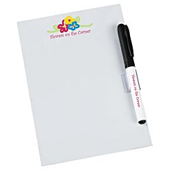 View a larger, more detailed picture of the Bic Dry Erase Magnet w Marker & Clip