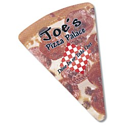View a larger, more detailed picture of the Bic Die Cut Magnet - Pizza