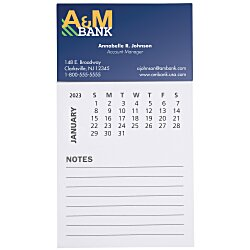 View a larger, more detailed picture of the Bic Magnet w Calendar and Lined Notes
