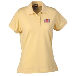 View a larger, more detailed picture of the Solarshield UPF 30 Easy Care Pique Polo - Ladies
