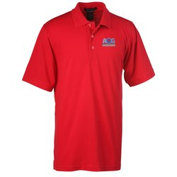 View a larger, more detailed picture of the Solarshield UPF 30 Easy Care Pique Polo - Men s