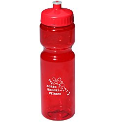 View a larger, more detailed picture of the Translucent Sport Bottle - 28 oz