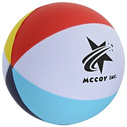 View a larger, more detailed picture of the Beach Ball Stress Ball